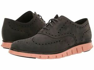Cole Haan ZEROGRAND WING Oxfords Leather C29672 MAGNET BLACK SUNSET Size 9.5