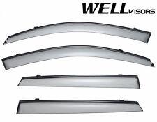 For 11-15 Kia Sorento WellVisors Side Window Deflectors Visors W/Black Trim