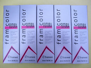 ONE TUBE of Framesi FramColor Futura Hair Color 2oz NEW!