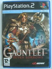 Gauntlet: Seven Sorrows (Sony PlayStation 2, 2005) - PS2 video game PAL