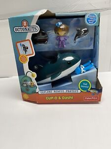 Fisher-Price Octonauts Gup-O & Dashi Orca Whale & Removable Helmet New Sealed