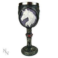 Unicorn Refreshment Goblet 18.5cm High Gothic Chalice Nemesis Now