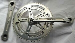 Vintage SUGINO Super Mighty Competition Chainset 170mm 42/52 Milled Spider VGC