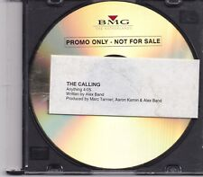 The Calling-Anything Promo cd single