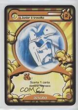 1998 Dragon Ball GT Italian Trading Card Game Base #NoN Junior e travolto 8b6