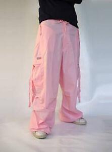 Ufohose Wind Pant 82955 Girly Tanzhose, Street Hip Hop Hose - Farbe Pastel Pink