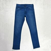 Mens LEVIS 510 Jeans Size W32 L34 Skinny leg Slim fit Stretch Denim blue Pants