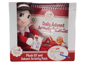 Plush Elf on the Shelf Advent Activity Pack Writing Recipes Activities Craft New