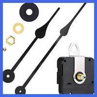 WILLBOND Long Shaft High Torque Clock Movement Clock Motor with 7 Inch Spade Hands Shaft Length 9//10 Inch// 23 mm