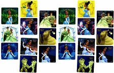 Disney PRINCESS and the FROG 20 Large Stickers! Glitter Tiana Prince Navin