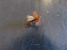 12 Elk Caddis Micro #18 Fishing Flies Brookside Fluttering Caddis