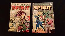 Master of Mystery the Spirit Super Comics