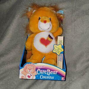 Care Bear Cousins Brave Heart Lion 2004 Stuffed Toy Plush. New.