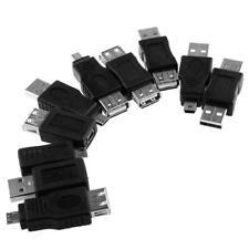 10 in 1 USB 2.0 OTG F / M Femmina a Mini USB Micro Adattatore maschio