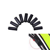 100x 4mm freno de bicicleta cable de la carcasa plástico tapa punta de extr*ws