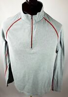 Cloudveil Men's 1/4 zip Pullover Shirt Long Sleeve Athletics Activewear size L