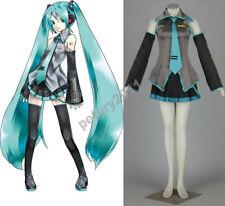 Vocaloid Hatsune Miku Cosplay Costume Dress Halloween