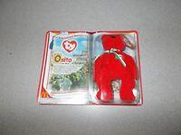 Osito the Bear Beanie Babies toy new 2000 McDonalds ty International Bears II