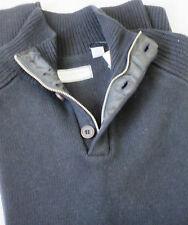 DANIEL BUCHLER NEW YORK 1/3 Zip Sweater Long Sleeve size M NWT