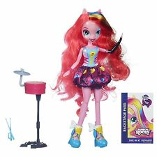 My Little Pony Equestria Girls Pinkie Pie Doll Rocks & Sings w/Drums 6+ Hasbro