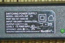 PalmOne Power Supply DSC-51FL-52P US by NetBit 5.2 vdc 1.0 A Tested & Working