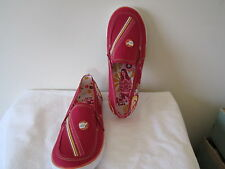 Youth Girls Keds Shoes ICarly Canvas Slip on Casual ASAP Berry NEW Pink Shoe 4 M