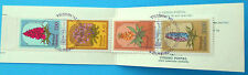 Portugal Maderia Stamps - 1981 Regional Flowers Booklet Pane (4 Stamps)