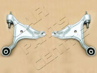 FOR VOLVO S80 FRONT LEFT RIGHT LOWER SUSPENSION WISHBONE CONTROL ARMS inc BUSHES