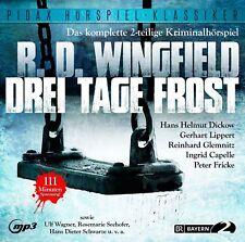 Drei Tage Frost - Hörspiel (Pidax Klassiker)  mp3-CD/NEU/OVP