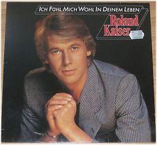 Roland Kaiser, Ich fühl mich wohl in deinem Leben, VG/VG  LP (3015)