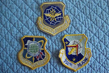 Three Air Force Patches