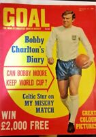 Goal Soccer Weekly Magazine No 2 August 17th 1968