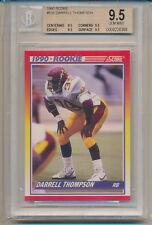 1990 Score Football Darrell Thompson (Rookie Card) (#636) BGS9.5 BGS