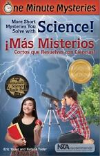 One Minute Mysteries - Misterios de Un Minuto: Short Mysteries You Solve with Sc