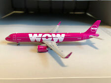 GeminiJets GJWOW1686 WOW Air Airbus A321NEO TF-SKY, 1:400