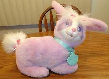 Vintage Hasbro Bunny Surprise  Purple Pregnant Mom W/Collar+ 5 Baby Bunnies RARE