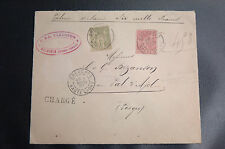 FRANCE : N° 82 1franc OLIVE CLAIR + N° 98 50 cent. ROSE de BREUCHES / VAL D'AJOL