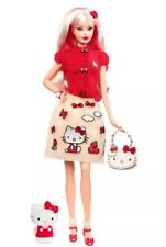 2017 Hello Kitty Barbie Doll Limited Edition Mint DWF58 NEW