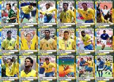 Brazil 1994 World Cup winners football trading cards
