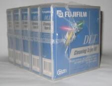 Lot of 5 NEW SEALED FUJI FUJIFILM DLT CLEANING TAPE CARTRIDGEs