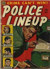 AVON Golden Age : Police Line-Up #1 (Wally Wood) spanking panel (Pre-Code Crime)