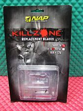 NAP Killzone Trophy Tip Replacement Blades 3 PACK  60-598