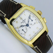 PAUL PICOT FIRSHIRE GOLD TONNEAU CHRONOGRAPH UHR Ref. DMA/002 490