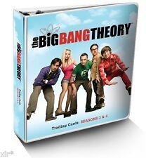 THE BIG BANG THEORY SEASON 3 & 4  TRADING CARDS MINI MASTER SET
