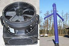 Skydancer mit Gebläse, Airdancer,Flattermann, 1100 W, blau