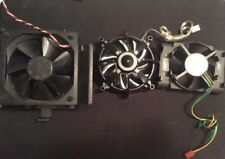 Lot 3 Cooling Fans For Computer Processor Unit Intel AERO DC Brushless Fans Used