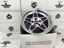 "FYK ED3 16"" 8j-9j Alloy Wheels 5x100 EURO DRIFT BBS RS XXR VW GOLF CONCAVE"