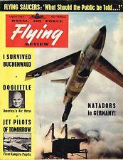 RAF FLYING REVIEW AUG 54: FACSIMILE ED/ DOUGLAS XA4D-1/ VAMPIRE STUDENT PILOTS
