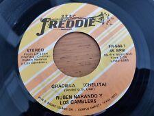"""RUBEN NARANJO y LOS GAMBLERS - Graciela (Chelita) / En Mi Propia Cama LATIN 7"""""""