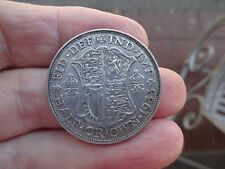 1933 King George V Silver Half Crown Very Nice Grade